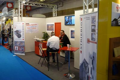 Striebig; Batimat 2011; salons;