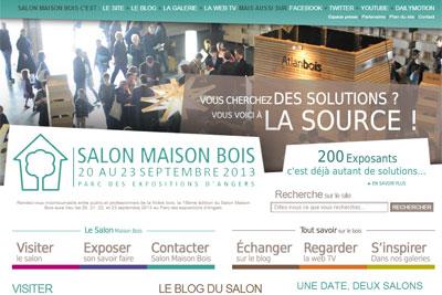 Salon maison bois habitat et immobilier cmp bois - Salon habitat angers ...