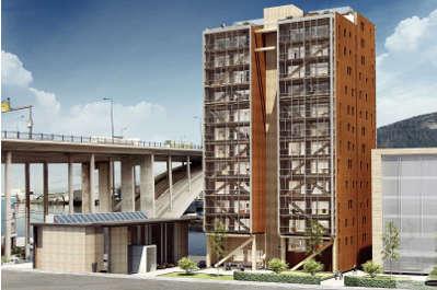 14 tages en bois bergen norv ge cmp bois for Construction en bois 6 etages