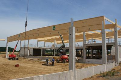 Attestations zone verte pour le bois lamell cmp bois for Construction piscine zone verte