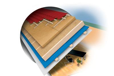 isoler la toiture gr ce la fibre de bois cmp bois. Black Bedroom Furniture Sets. Home Design Ideas