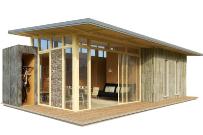 La maison qui d m nage cmp bois for Maisons modulaires bois