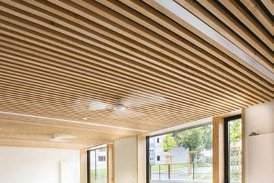 ... enfance à Autun : une construction mixte bois-béton - Cmp Bois
