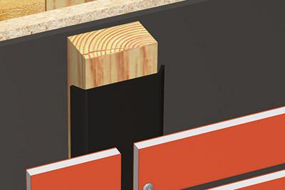Pour l 39 esth tique et la durabilit des bardages claire for Pare pluie bardage bois