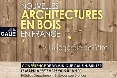 conf rence sur les nouvelles architectures bois cmp bois. Black Bedroom Furniture Sets. Home Design Ideas