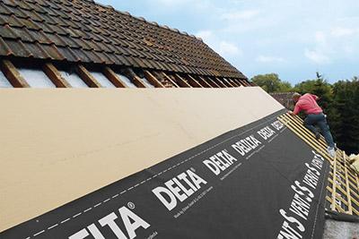 deux crans de sous toiture delta sous label qb cmp bois. Black Bedroom Furniture Sets. Home Design Ideas