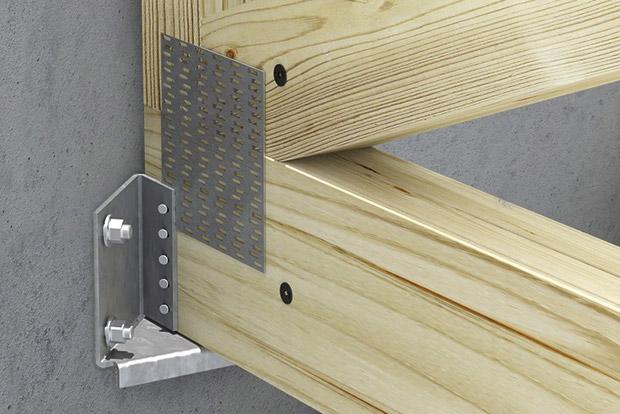 sabot pour angle ma onn cmp bois. Black Bedroom Furniture Sets. Home Design Ideas