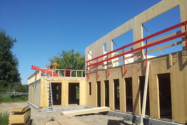 L'APHP expérimente la construction bois Cmp Bois # Hopital Bois Bernard