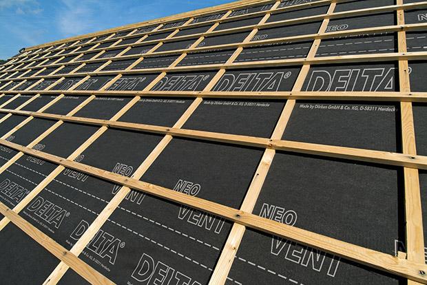 Nouveaut technologique dans les crans de sous toiture for Sous toiture delta vent
