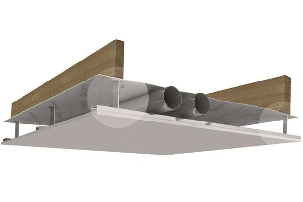 suspentes en t pour vide technique cmp bois. Black Bedroom Furniture Sets. Home Design Ideas