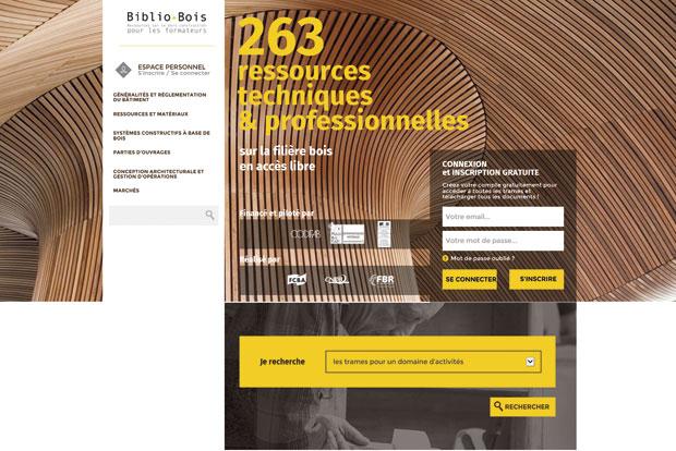 Une biblioth que construction bois cmp bois for Formation construction bois
