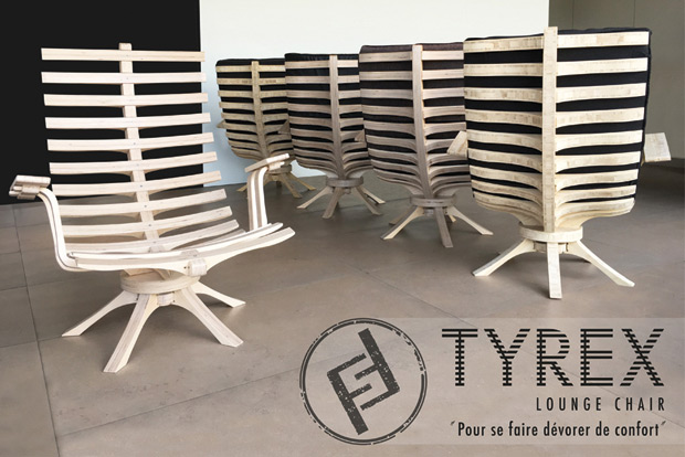 Menuiserie Sifferlin mobilier Tyrex lounge chair