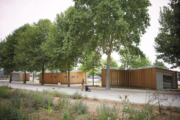 H2O Architectes construction pavillons bois