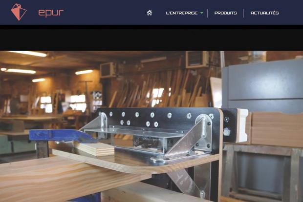 Oakbot Epur machine portative taille charpente