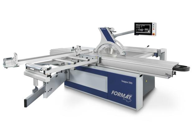 Felder Group machine scie à format Kappa 590