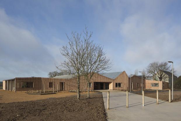 Refuge de l'Arche construction bois Tica Architecture