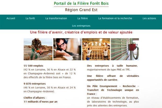 Fibois Grand Est web-conférence construction bois