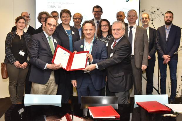 Inra Irstea CNPF convention cooperation partenariat
