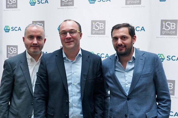 Groupe ISB SCA Wood France entreprises fusion