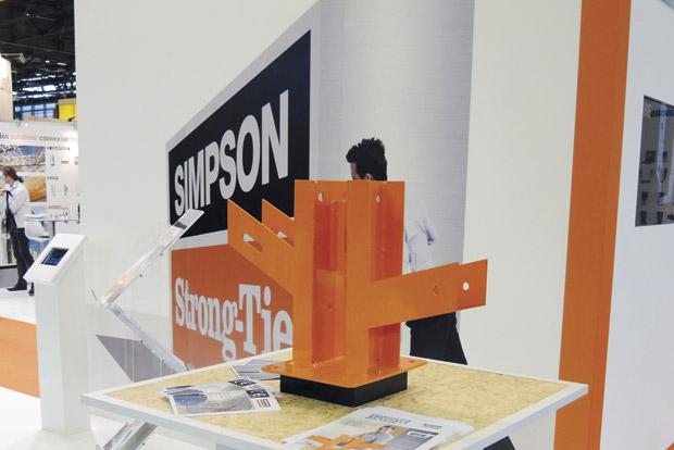 Simpson Strong-Tie certification service spécial connecteurs