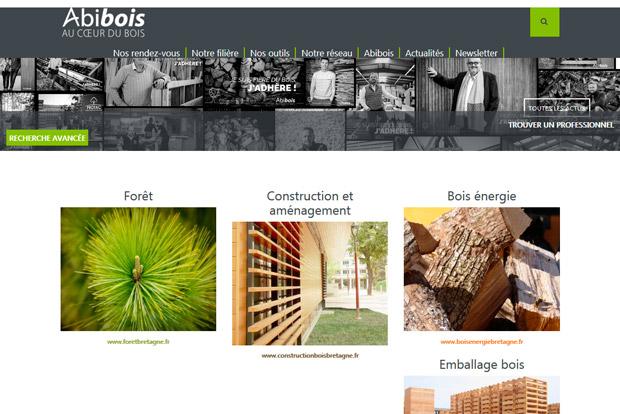 Abibois Insee étude filière forêt-bois-Bretagne
