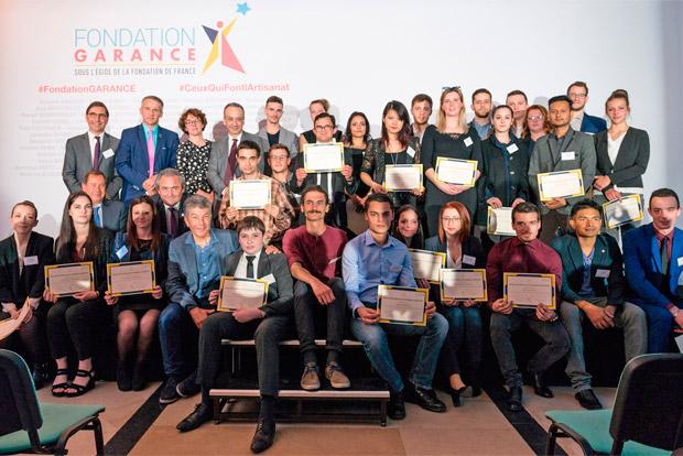 Fondation Garance bourses apprentis artisans en formation