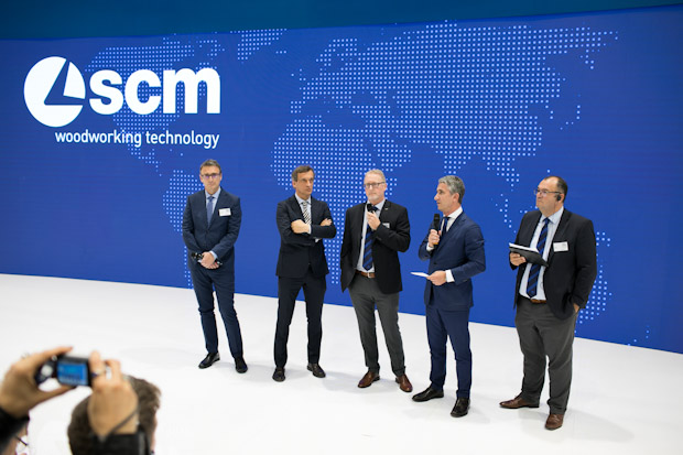 Scm Group Ligna 2019 smart factory