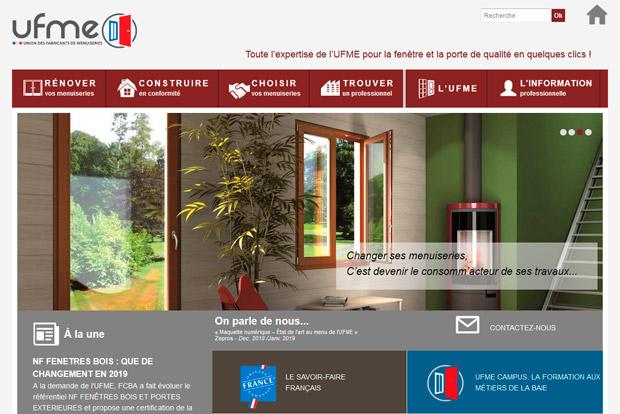UFME FCBA fenêtres portes bois