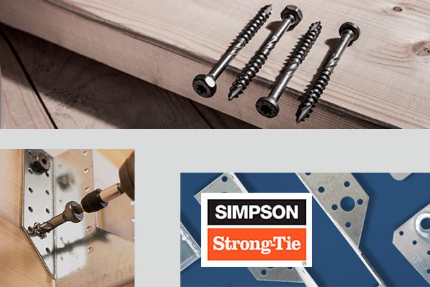 Simpson Strong-Tie vis SSH connecteurs bois