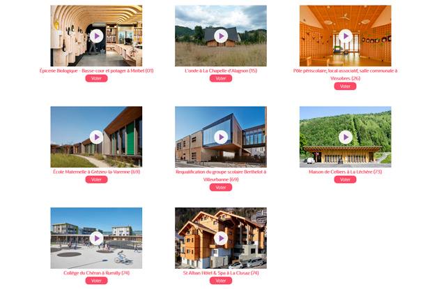 Fibois Aura prix régional construction bois