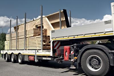 syst mes de transport pour charpentes et murs bois. Black Bedroom Furniture Sets. Home Design Ideas