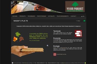 Vision parquet pr sentation cmp bois for Mandres les roses code postal